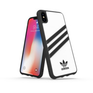 adidas OR Moulded Case PU FW18 for iPhone XS Max white/ black