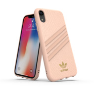 adidas OR Moulded Case PU SNAKE FW18 for iPhone XR pink