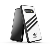 adidas OR Moulded Case PU SS19 for Galaxy S10 white/ black