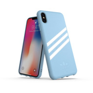 adidas OR Moulded Case PU SUEDE FW18 for iPhone XS Max blue