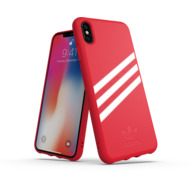 adidas OR Moulded case SUEDE FW18 for iPhone XS Max scarlet