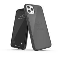 adidas OR Protective Clear Case Big Logo FW19 for iPhone 11 Pro Max smokey black