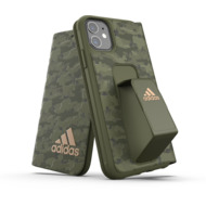 adidas SP Folio Grip Case Camo FW19 for iPhone 11 tech olive