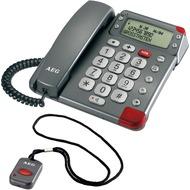 AEG Milano G200 Großtastentelefon mit Notruf-Funksender