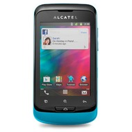 Alcatel onetouch 918D MIX, cyberblue-white