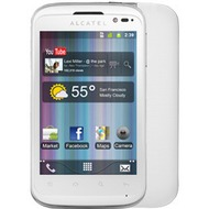 Alcatel onetouch 991D SMART, pure white