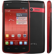 Alcatel onetouch 992D, cherry red