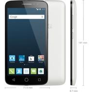 Alcatel onetouch Pop 2 pure, Dual SIM, white