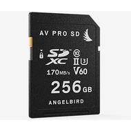 Angelbird AV Pro SD Speicherkarte SDXC, 256GB, UHS-II, Class 10, V60, U3