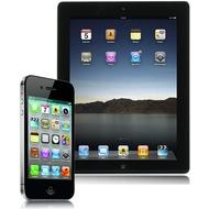 Apple iPhone 4s, 16GB, schwarz (NB) + iPad 2 Wi-Fi 16 GB, schwarz
