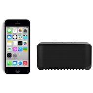 Apple iPhone 5C, 16GB, weiß (Telekom) + Jabra Bluetooth Lautsprecher Solemate mini, schwarz
