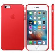 Apple iPhone 6s Plus, iPhone 6 Plus, Leder Case, rot