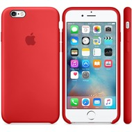 Apple iPhone 6s Plus Silicone Case, rot