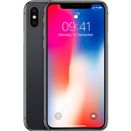 Apple iPhone X, 64 GB, Space Grey mit Vodafone Red S Sim Only Vertrag