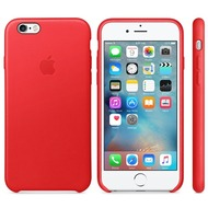 Apple Leather Case für iPhone 6s, red