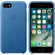 Apple Leder Case für iPhone 7 - meerblau