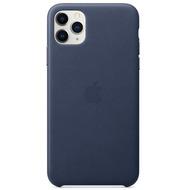 Apple Leder Case iPhone 11 Pro Max mitternachtsblau
