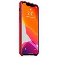 Apple Leder Case iPhone 11 Pro rot