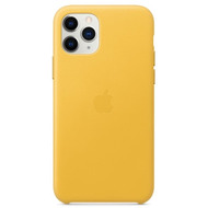 Apple Leder Case iPhone 11 Pro sonnengelb