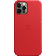 Apple Leder Case iPhone 12/ 12 Pro mit MagSafe (rot)