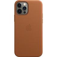 Apple Leder Case iPhone 12/ 12 Pro mit MagSafe (sattelbraun)
