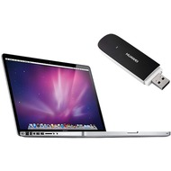 Apple MacBook Pro 15 Core i7 2,4 GHz + Huawei E353 HSPA+ mit o2 go mit Surf Flat L 24 Mon. Vertrag