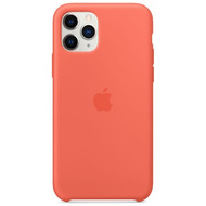 Apple Silikon Case iPhone 11 Pro clementine
