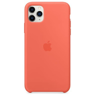 Apple Silikon Case iPhone 11 Pro Max clementine
