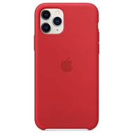 Apple Silikon Case iPhone 11 Pro rot