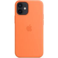 Apple Silikon Case iPhone 12 mini mit MagSafe (kumquat)