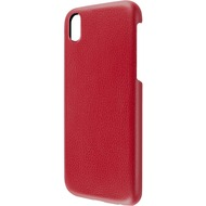 Artwizz Leather Clip for iPhone X, red