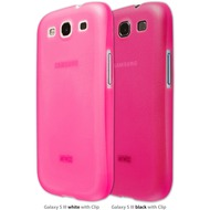 Artwizz SeeJacket Clip Light NEON for Samsung Galaxy S III (GT-i9300), pink
