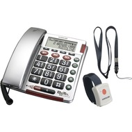 Audioline BIGTEL 50 Alarm plus silber
