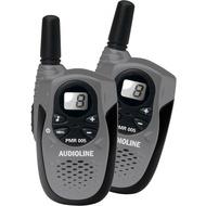 Audioline PMR 005 gunsilver