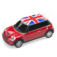 AutoDrive , USB 2 Flash Drive, Mini Cooper, 16 GB, rot