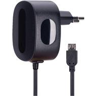 AVO+ Reise-Ladegerät mit Micro-USB-Kabel schwarz