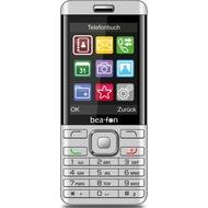 beafon C350 - Classic Line, Klapphandy, silber, Dual SIM mit Telekom MagentaMobil S Vertrag