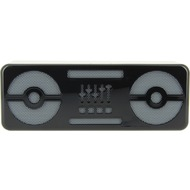 Beewi Bluetooth Stereo Speakers Blaster Bee, schwarz