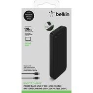 Belkin Boost Charge Power Bank, 20.000 mAh, inkl. USB-C, 30W, PD
