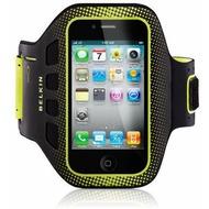 Belkin EaseFit Sportarmband f�r iPhone 4 /  4S, schwarz-gelb