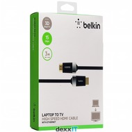 Belkin High Speed HDMI Kabel - 3.00m - schwarz goldkontakt