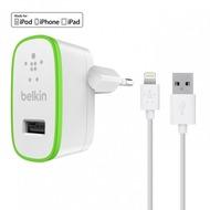 Belkin Home Charger mit Lightning-Kabel 1,2m weiß/ grün
