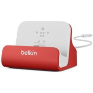 Belkin Lightning Lade/ Sync Dock für iPhone/ iPod, Rot