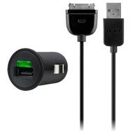 Belkin Mini Kfz-Ladegerät USB (mit Apple Datenkabel)