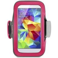Belkin Slim-Fit Sportarmband für Galaxy S4/  S5, pink