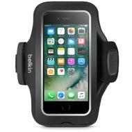 Belkin Slim Fit Plus Sportarmband für iPhone 7, Schwarz