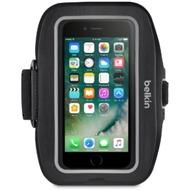 Belkin Sport Fit Plus Sportarmband für Apple iPhone 7, Schwarz