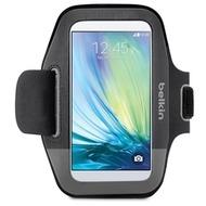 Belkin Sport Fit Sportarmband für Galaxy S6, Schwarz Grau