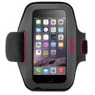 Belkin Sportsarmband Sport-Fit für Apple iPhone 6 grau/ pink