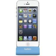 Belkin Sync-/ Lade-Dock für iPhone 5/ 5S/ SE, blau-grau